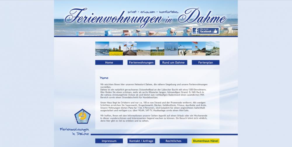 Ferienwohnungen in Dahme