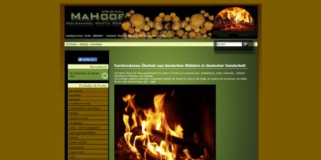 Original Mahoof - Holzhandel Martin