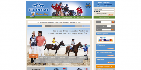 HV-Polo - Pur Reitsport - Ausrüstung für Pferd und Reiter