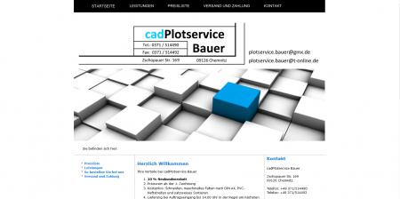 cadPlot Service Bauer